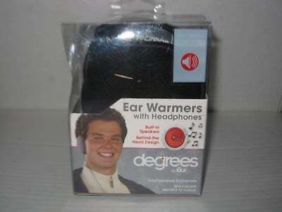 Ear warmers with built in headphones Degrees by 180s New in the box.