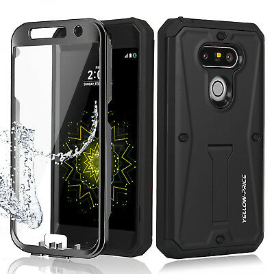 LG G5 Full Defender Protective Case Triple Armor Cover Kickstand+Built-in Screen