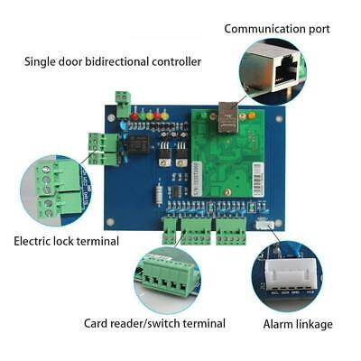 TCP/IP Network Wiegand 6 Entry Attendance Access Panel Control Board Supply