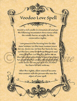 Voodoo Book Of Shadows Spells Witchcraft Rituals Coven Magick Magic
