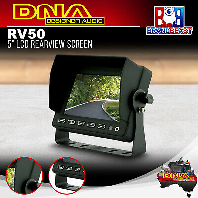 DNA RV50 5 Inch LCD Rearview Screen Mobile Safety