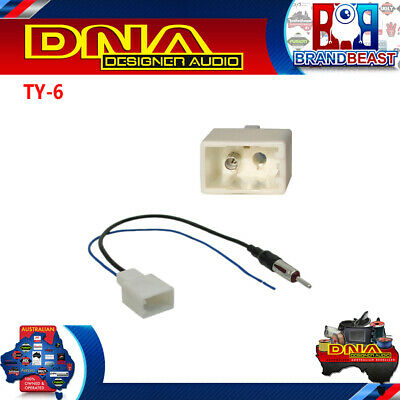 Dna Ty-6 Antenna Lead To Suit Toyota Antennas & Communications TY6