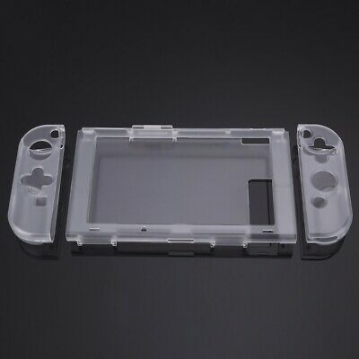 Crystal Hard Protector Case Cover Protector for Nintendo Switch Console Joy-Con