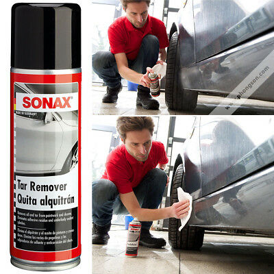 Sonax Tar Remover Eradicates Stains No Rubbing Scratching Cleaner Road Oil Easy