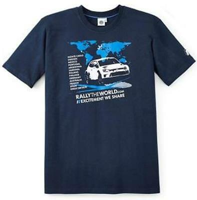 VW Herren Fan T Shirt Grösse L Motorsport Kollektion WRC 2015 6RV084200C BRL