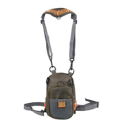 Zipper Chest Waist Pack Fly Fishing Sling Bag Fishing Tackle Gear
