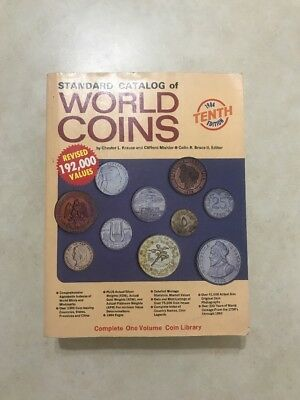 1984 - Standard Catalog of World Coins, 10th Edition - Krause/Mishler-RH