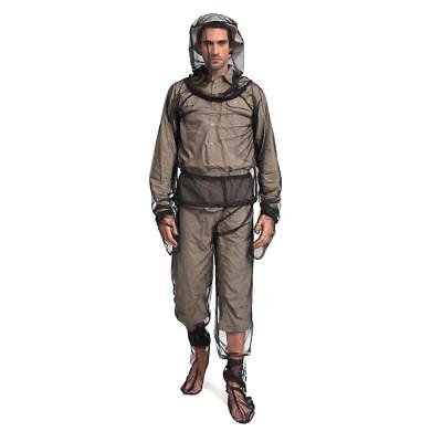 Mosquito Bug Insect Mesh Jacket Pant Set Camping Protector Net L