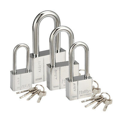 New High Security Silver Padlock 30/40/50/60mm warehouse lock, padlock,Box lock