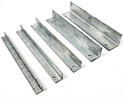 GALVANISED Mild Steel ANGLE Iron 3.0 mm 20, 25, 30, 40 & 50 mm  6 Lengths