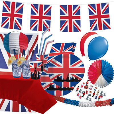 Großbritannien & Union Jack - England UK Party Deko GB United Kingdom London