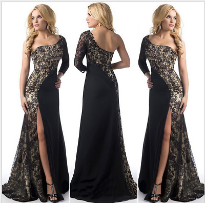 Formal Wedding Bridesmaid Long Evening Party Ball Prom Gown Cocktail Dress