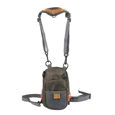 Zipper Chest Waist Pack Fly Fishing Sling Bag Fishing Tackle