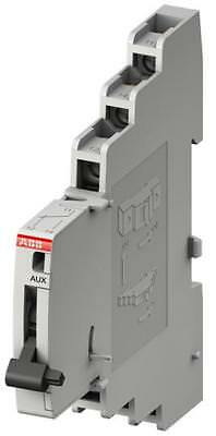 ABB DIN Rail Mount Auxiliary Contact with Screw Terminal, 2NO/2NC, S800-AUX
