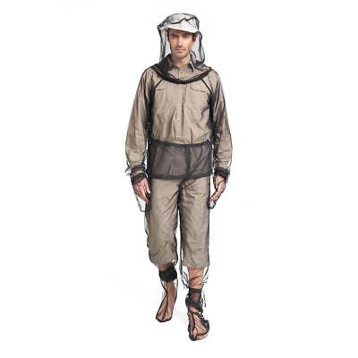 Mosquito Bug Bee Fly Insect Repellent Mesh Net Jacket Pant Set XL