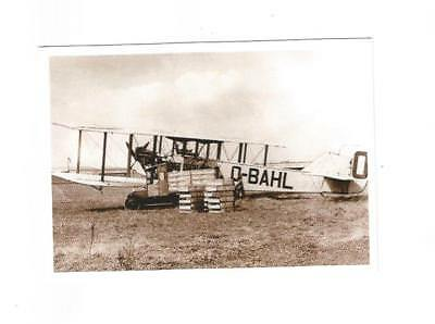 Cp Hp Handley Page Sabena O-Bahl 10/8/1924 At Haren Airport Competition Pigeon