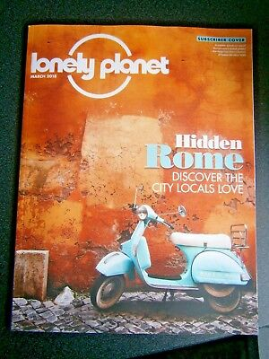 Lonely Planet Magazine March Issue 2018 (new)