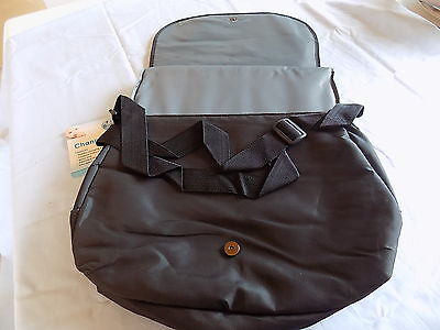 Brand New First Steps Kids Baby Travel Changing Bag With Changing Mat Black