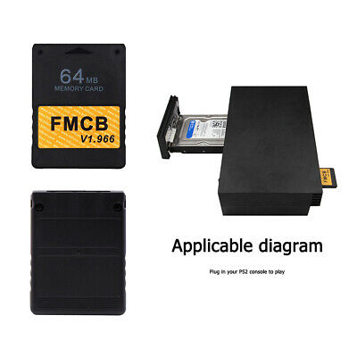 Free McBoot v1.953 Memory Card (64MB) for PS2 Sony Playstation 2