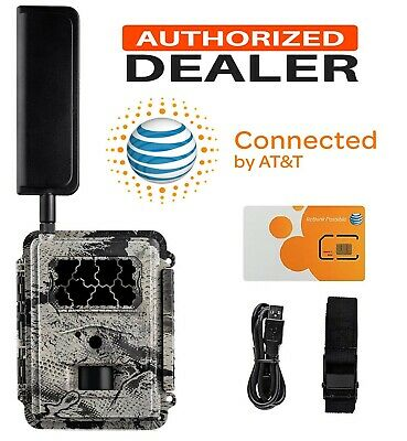 HCO Spartan GoCam AT&T 4G/LTE Cellular Cam Hunting Game & Trail Camera GC-A4Gb