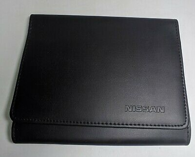 Genuine Nissan Micra Qashqai X-Trail Juke Handbook Document Folder Wallet A8