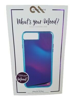 new styles 52fe8 7bc50 CASE-MATE KARAT MOOD Color Changing Case For iPhone 8 Plus 7 Plus NEW OEM