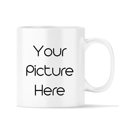 Custom Image Coffee Mug Cup Photo Your Picture, Logo, Design Text, Collage