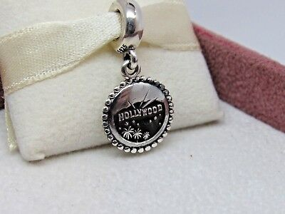 New w/Box Pandora Los Angeles Hollywood California  Dangle Charm #791169-G050