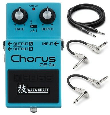 New Boss CE-2W Waza Craft Chorus Guitar Effects Pedal!