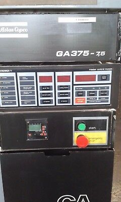 Atlas Copco GA375 Rotary Screw Compressor with Air Dryer and Oil Separator