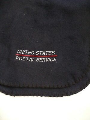 New Navy Fleece USPS Winter Scarf - United States Postal Service Mail Carrier
