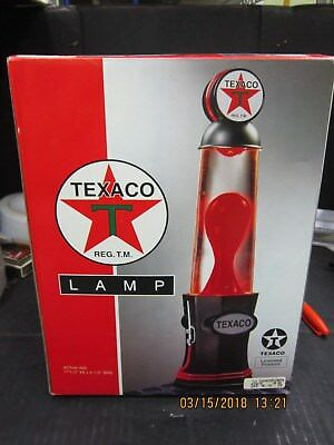Texaco Lava Lamp