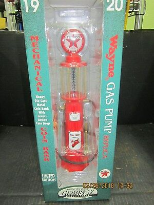 Gearbox Texaco Fire Chief Visible Red Pump Bank
