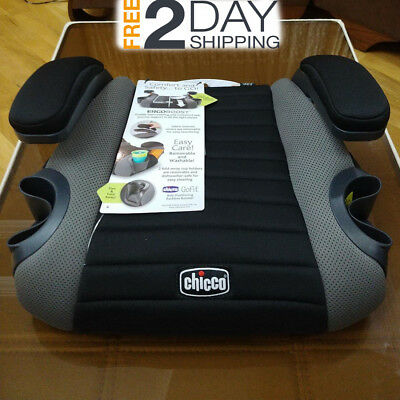 CHICCO GoFit travel Car Seat Backless kid Booster Child Caramel Big Kid Washable
