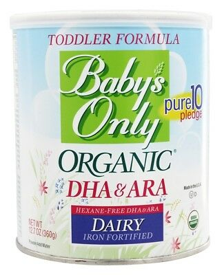 Baby's Only - Organic Dairy Based Iron Fortified Toddler Formula with DHA and