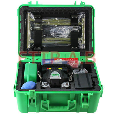 New FTTH A-80S Green Fiber Optic Splicing Machine Optical Fiber Fusion Splicer
