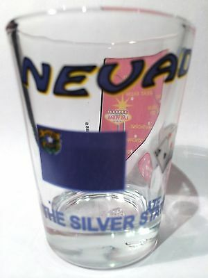 Nevada The Silver State All-American Collection Shot Glass Shotglass