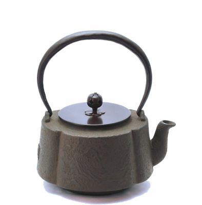 Kyoto Iron Kettle Mokko Sansuijimon Japanese Tea Ceremony / SHOJUDO / K020-005