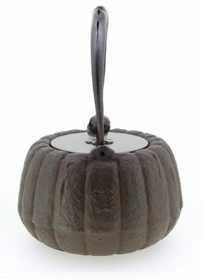 Kyoto Iron Kettle Kikugata Japanese Tea Ceremony / SHOJUDO / K020-004