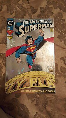 1993 The Adventures of Superman collectible comic book near mint condition