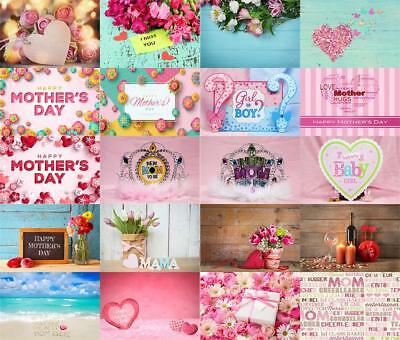 Mother' Day Theme Photography Backdrop Props Photo Background Floral Studio Show