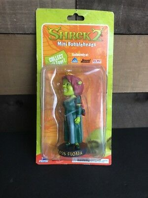 Princess Fiona from Shrek Mini Bobblehead Figure - Shrek 2 Movie 2003 NEW SEALED