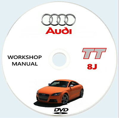 Audi TT 8J,Manuale Officina,Audi TT 8J service manual