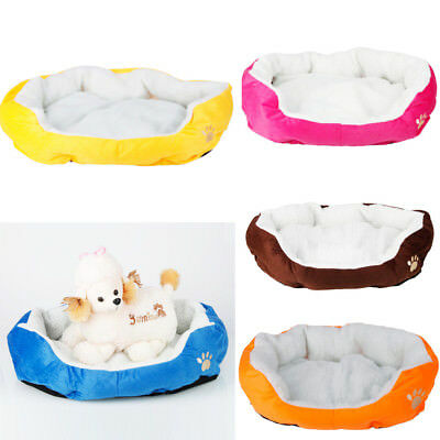 Small/Medium/Large Dog Cat Puppy Bed House Kennel Cotton Pet Warm Waterloo Hot