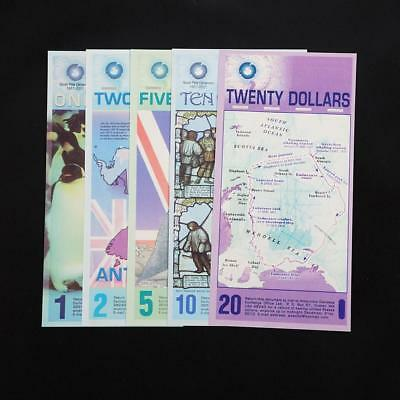 Arctic 1/2/5/ 10/20 Dollar Commemorative notes Collection UK