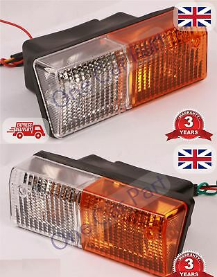 PAIR Massey Ferguson 675,690,698,699,1004 LH RH Front Indicator Light Lamp