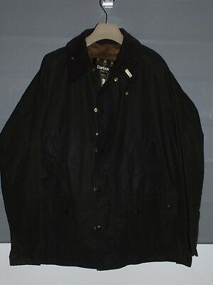 barbour bedale jacket waxed cotton  green  + inner pile + pin  c46/117 XL