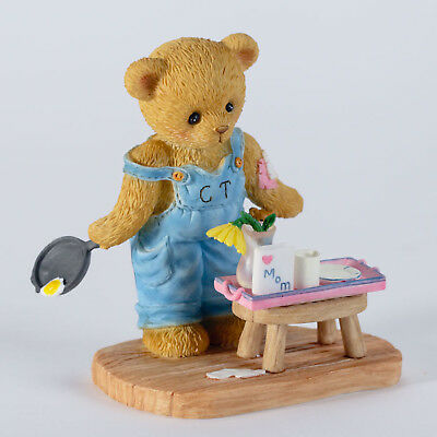 Cherished Teddies Cooking For Mom Mother's Day Bear New 4027219 Sale