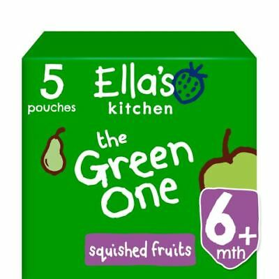 Ellas Kitchen Smoothie Fruit - The Green One Multipack 5 x 90g