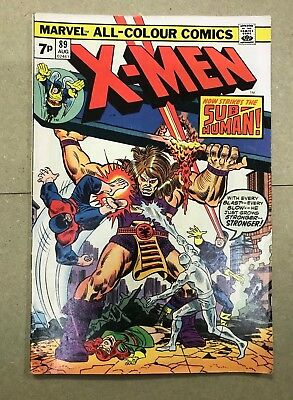 Marvel comics X - Men 89 - 1974